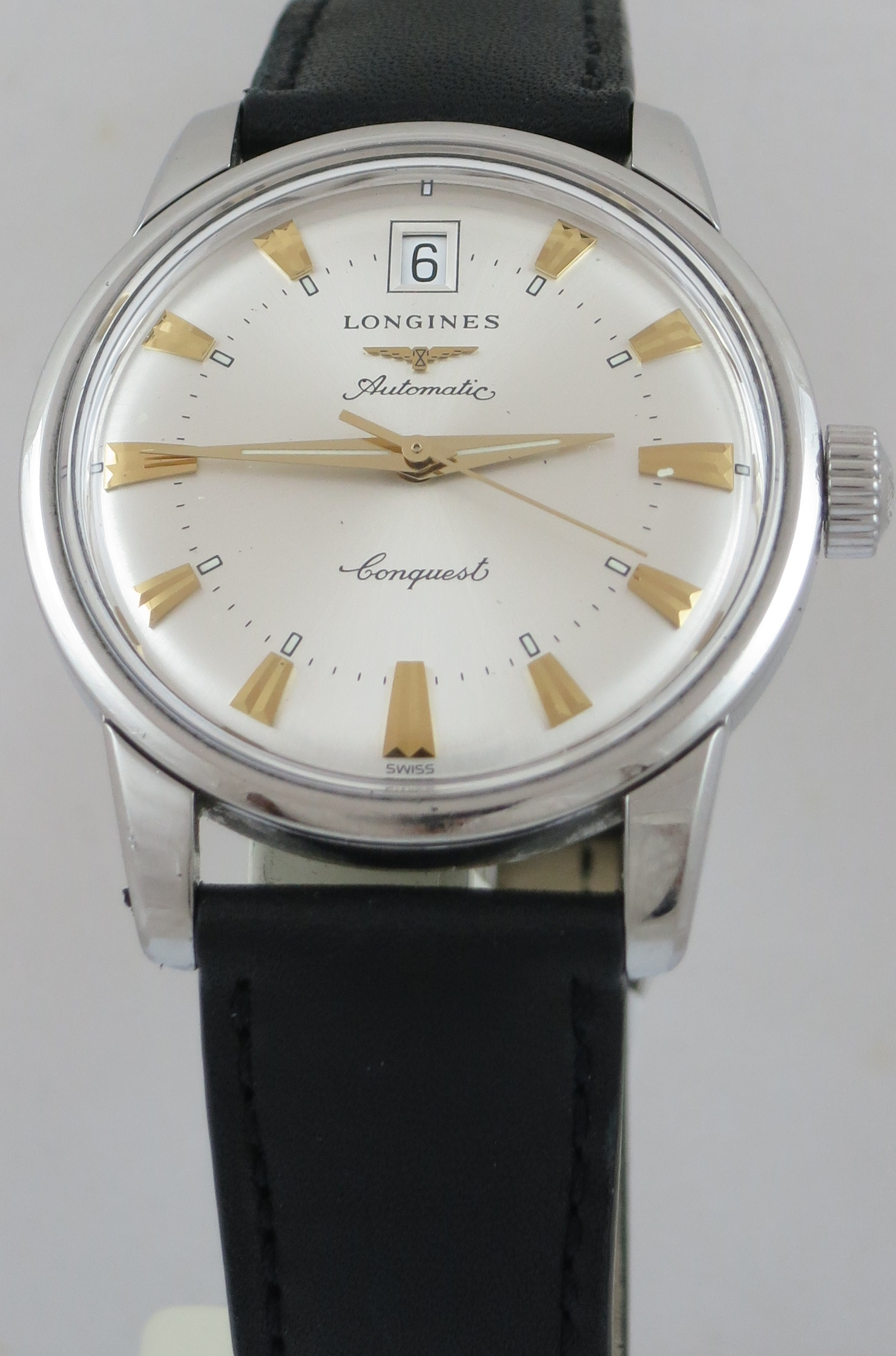 LONGINES CONQUEST HERITAGE AUTOMATIC WATCH