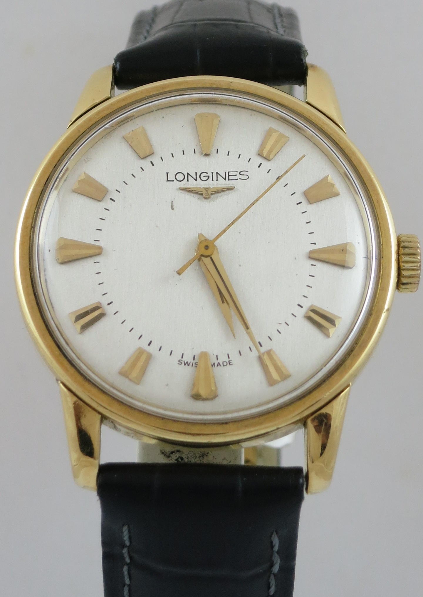 LONGINES CONQUEST 18CT GOLD AUTOMATIC WATCH