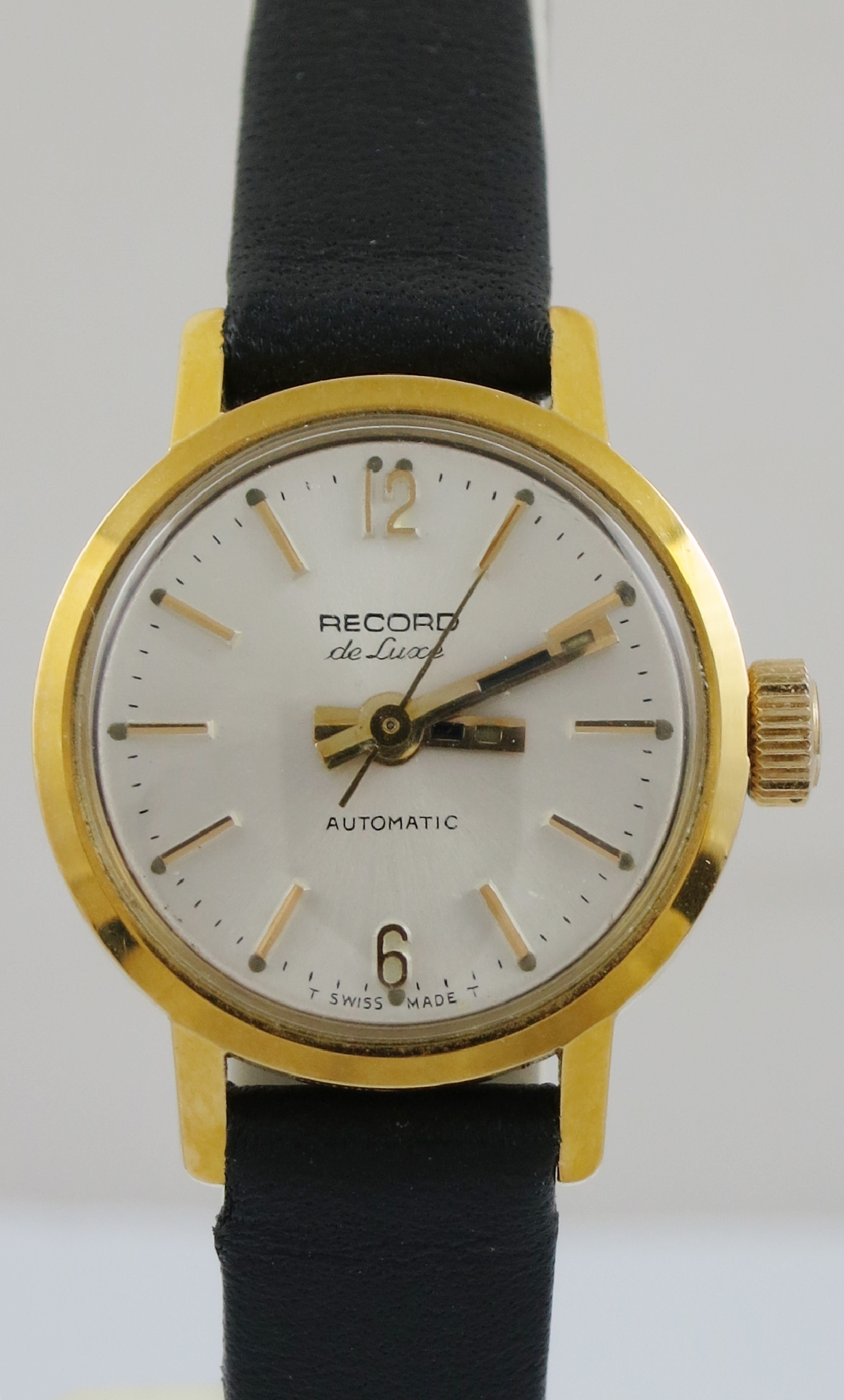 LADIES RECORD DE LUXE AUTOMATIC WATCH