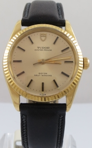 TUDOR OYSTER PRINCE ROTOR SELF-WINDING 18CT GOLD WATCH