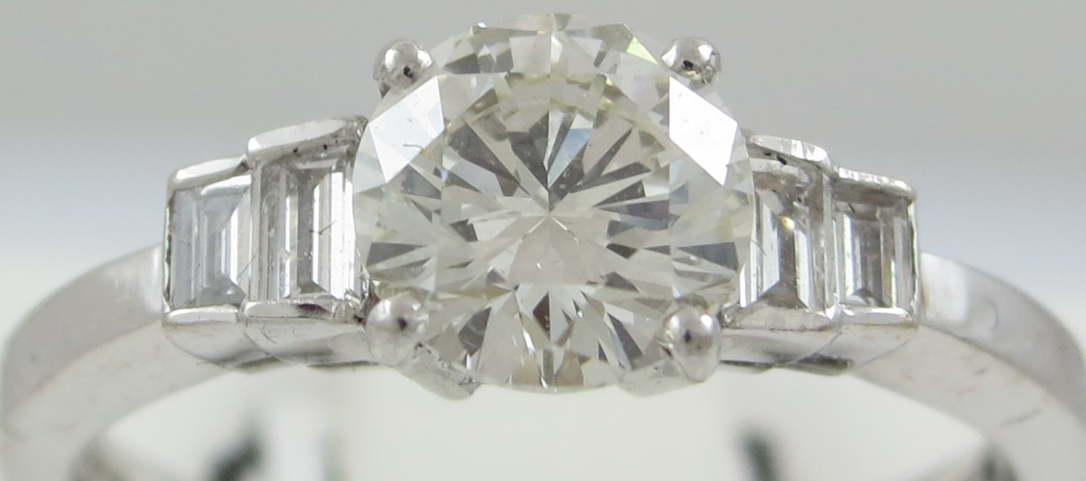 Diamond Mixed Cut Ring