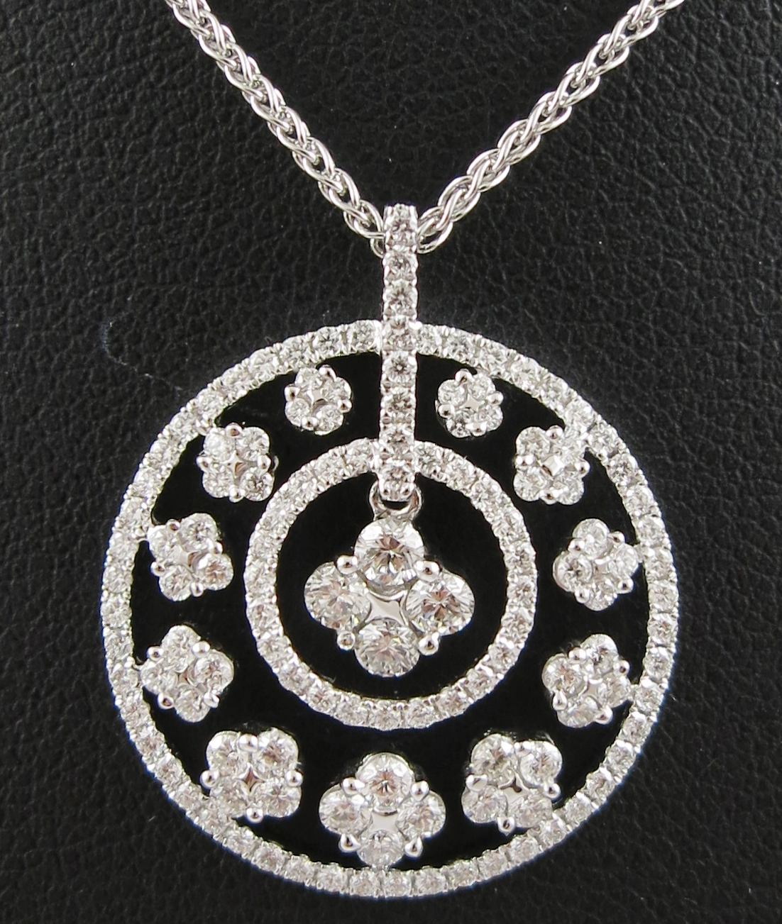 Diamond Fancy Pendant and chain