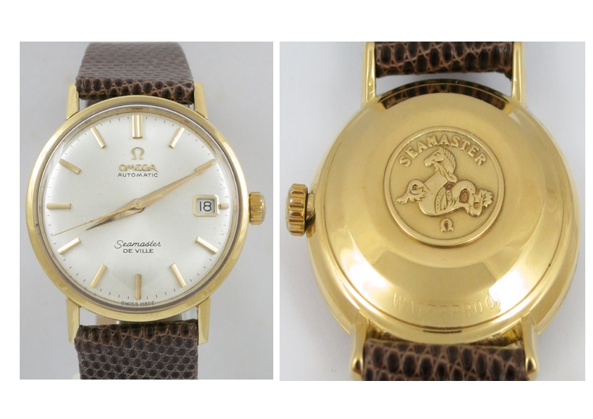 OMEGA SEAMASTER DeVille AUTOMATIC 18CT GOLD CASE